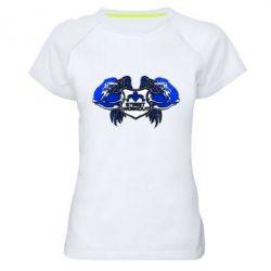 Купить Женская спортивная футболка Angel of street training, FatLine