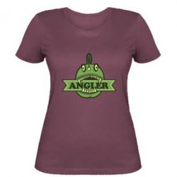 Женская футболка Angler