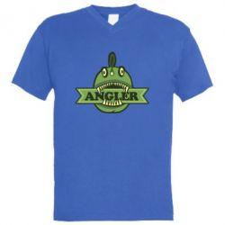 Мужская футболка  с V-образным вырезом Angler