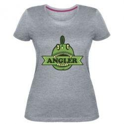 Женская стрейчевая футболка Angler
