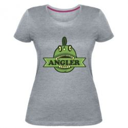 Жіноча стрейчева футболка Angler