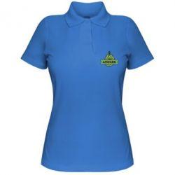 Женская футболка поло Angler