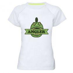 Женская спортивная футболка Angler