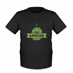 Детская футболка Angler