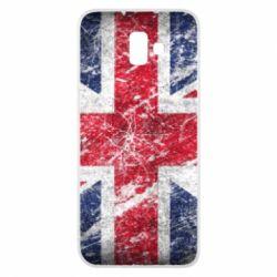 Чехол для Samsung J6 Plus 2018 Англия