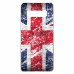 Чехол для Samsung S10+ Англия