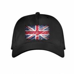 Детская кепка Англия - FatLine