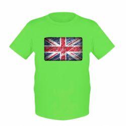 Детская футболка Англия - FatLine