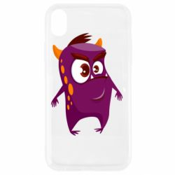 Чохол для iPhone XR Angry and cute monster
