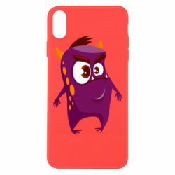 Чохол для iPhone Xs Max Angry and cute monster