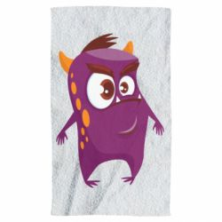 Рушник Angry and cute monster