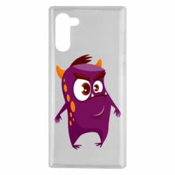 Чохол для Samsung Note 10 Angry and cute monster