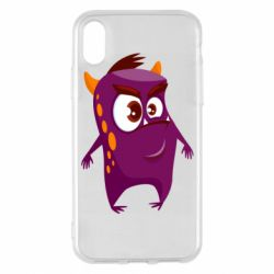 Чохол для iPhone X/Xs Angry and cute monster