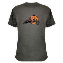 Камуфляжная футболка Angry ball - FatLine