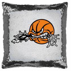 Подушка-хамелеон Angry ball