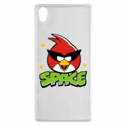 Чехол для Sony Xperia Z5 Angry Birds Space - FatLine