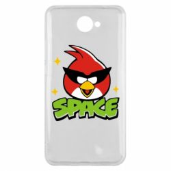 Чехол для Huawei Y7 2017 Angry Birds Space - FatLine