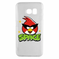 Чехол для Samsung S6 EDGE Angry Birds Space - FatLine