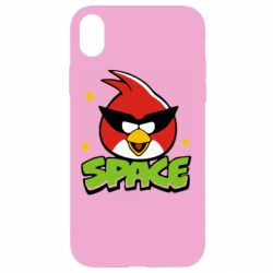 Чехол для iPhone XR Angry Birds Space - FatLine