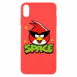 Чехол для iPhone Xs Max Angry Birds Space - FatLine