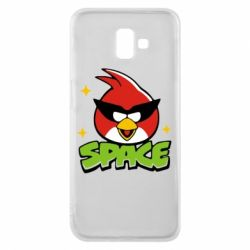 Чехол для Samsung J6 Plus 2018 Angry Birds Space - FatLine