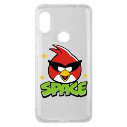 Чехол для Xiaomi Redmi Note 6 Pro Angry Birds Space - FatLine
