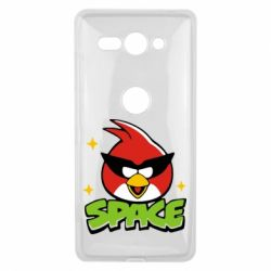 Чехол для Sony Xperia XZ2 Compact Angry Birds Space - FatLine