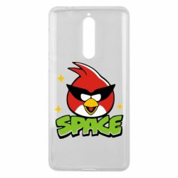 Чехол для Nokia 8 Angry Birds Space - FatLine