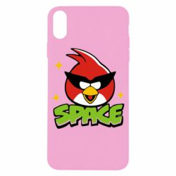 Чехол для iPhone X Angry Birds Space - FatLine