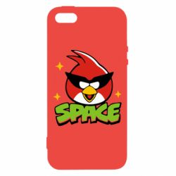 Чехол для iPhone5/5S/SE Angry Birds Space - FatLine