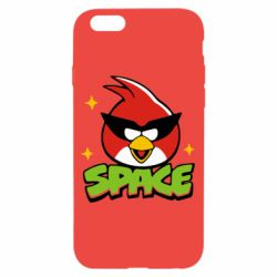 Чехол для iPhone 6/6S Angry Birds Space - FatLine