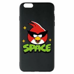 Чехол для iPhone 6 Plus/6S Plus Angry Birds Space - FatLine