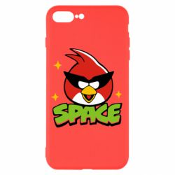 Чехол для iPhone 7 Plus Angry Birds Space - FatLine