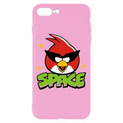 Чехол для iPhone 8 Plus Angry Birds Space - FatLine