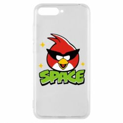Чехол для Huawei Y6 2018 Angry Birds Space - FatLine