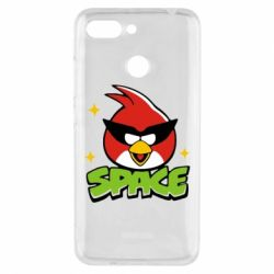Чехол для Xiaomi Redmi 6 Angry Birds Space - FatLine