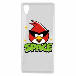 Чехол для Sony Xperia X Angry Birds Space - FatLine