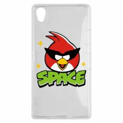 Чехол для Sony Xperia Z1 Angry Birds Space - FatLine