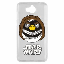 Чехол для Huawei Y5 2017 Angry Birds Star Wars 3 - FatLine