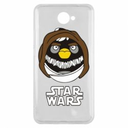 Чехол для Huawei Y7 2017 Angry Birds Star Wars 3 - FatLine