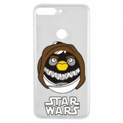 Чехол для Huawei Y7 Prime 2018 Angry Birds Star Wars 3 - FatLine