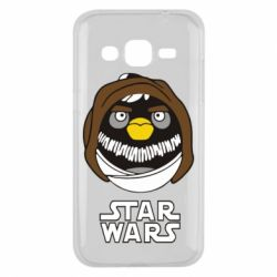 Чехол для Samsung J2 2015 Angry Birds Star Wars 3 - FatLine
