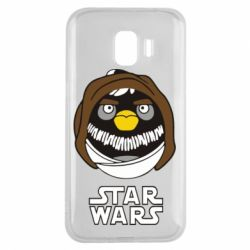 Чехол для Samsung J2 2018 Angry Birds Star Wars 3 - FatLine