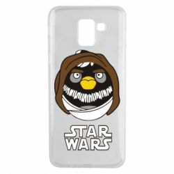Чехол для Samsung J6 Angry Birds Star Wars 3 - FatLine