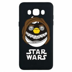 Чехол для Samsung J7 2016 Angry Birds Star Wars 3 - FatLine