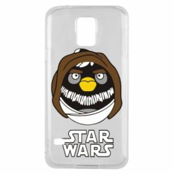 Чехол для Samsung S5 Angry Birds Star Wars 3 - FatLine