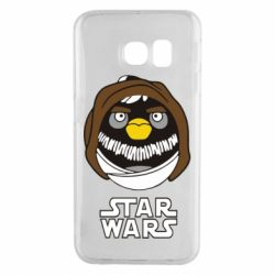 Чехол для Samsung S6 EDGE Angry Birds Star Wars 3 - FatLine
