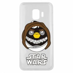Чехол для Samsung J2 Core Angry Birds Star Wars 3 - FatLine
