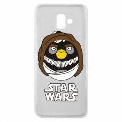 Чехол для Samsung J6 Plus 2018 Angry Birds Star Wars 3 - FatLine