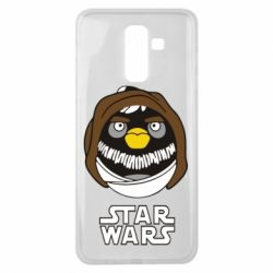 Чехол для Samsung J8 2018 Angry Birds Star Wars 3 - FatLine